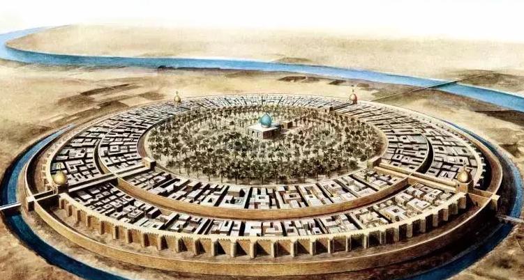 阿拔斯王朝时代的阿拉伯帝国首都巴格达